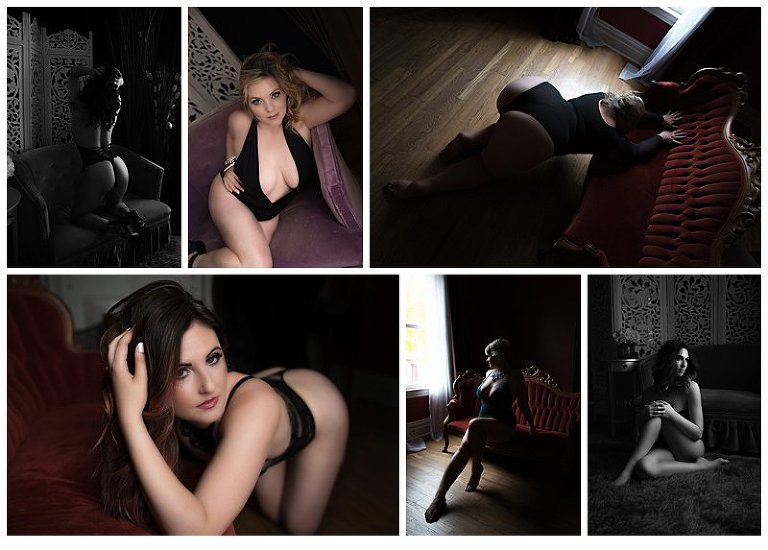Boudoir Photographer Pittsburgh, Boudoir Photography Pittsburgh, Beaver County Boudoir Photography, Boudoir Collage of poses and ideas