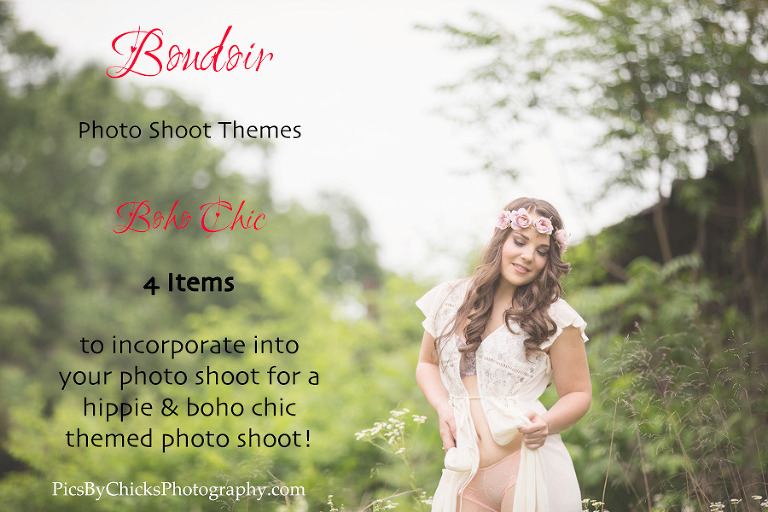 theme for a boudoir shoot - boho hippie chick - boudoir photo shoot - Pittsburgh boudoir photographer