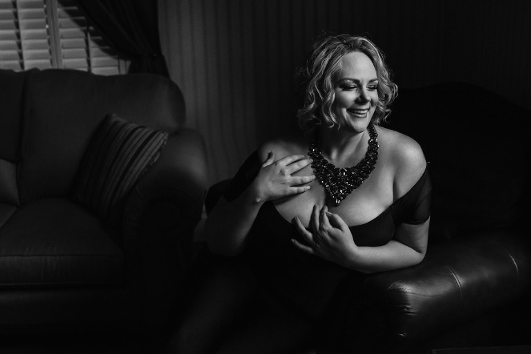 Pittsburgh Boudoir Photographer, Maura Chick, photographed by Miranda Parker Boudoir