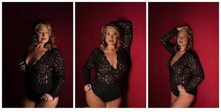 standing boudoir poses by pittsburgh boudoir photographer Pics By Chicks Photography